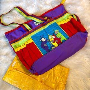 Other - Rare 90'S original Teletubbies diaper bag!